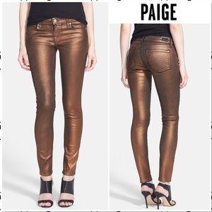 Paige Verdugo Ultra Skinny Coated Copper Galaxy 27